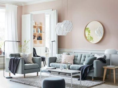 Charming gray living room design ideas for your apartment 44