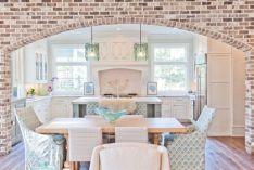 Colorful brick wall design ideas for home interior ideas 05