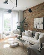 Colorful brick wall design ideas for home interior ideas 24