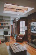 Colorful brick wall design ideas for home interior ideas 33