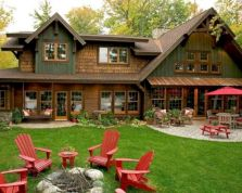 Comfy green country backyard remodel ideas 14