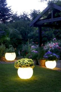 Comfy green country backyard remodel ideas 17
