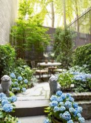 Comfy green country backyard remodel ideas 45