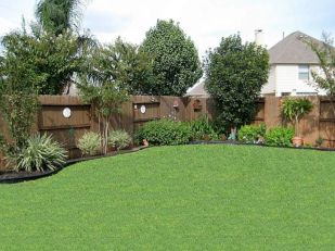 Comfy green country backyard remodel ideas 47