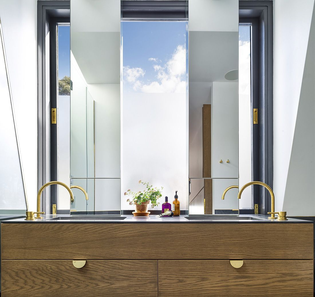 Cool bathroom mirror ideas 12