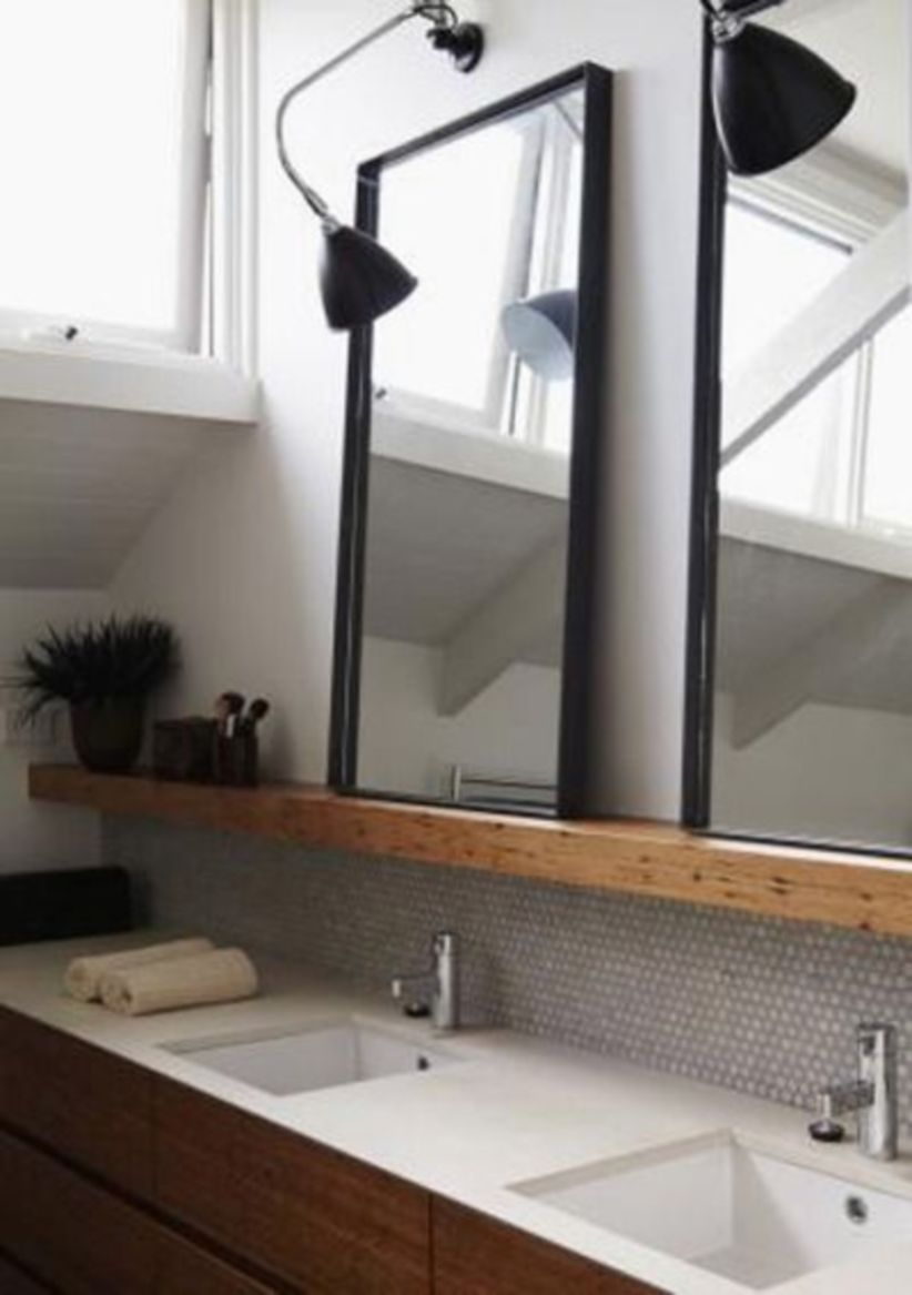 Cool bathroom mirror ideas 20