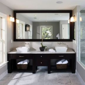 Cool bathroom mirror ideas 26
