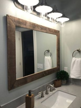 Cool bathroom mirror ideas 37