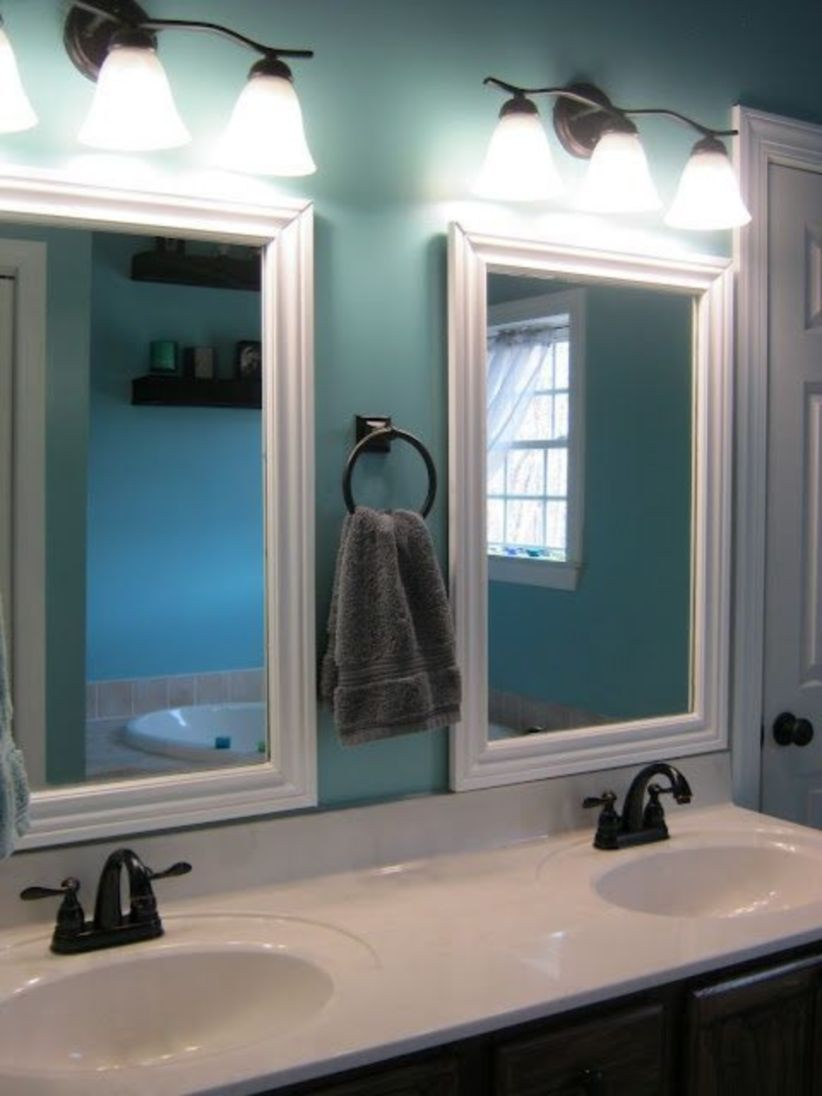 Cool bathroom mirror ideas 39