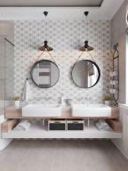 Cool bathroom mirror ideas 40
