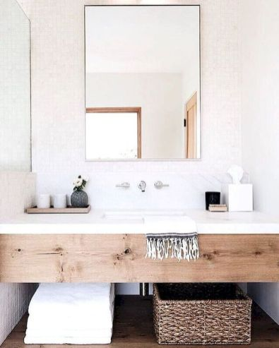 Cool bathroom mirror ideas 45