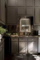 Cozy color kitchen cabinet decor ideas 48