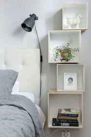 Cute diy bedroom storage design ideas for small spaces 07