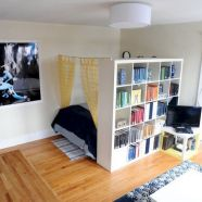 Cute diy bedroom storage design ideas for small spaces 14