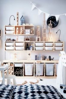 Cute diy bedroom storage design ideas for small spaces 15