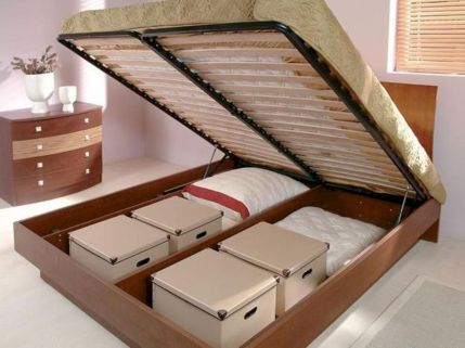Cute diy bedroom storage design ideas for small spaces 21
