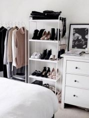 Cute diy bedroom storage design ideas for small spaces 24