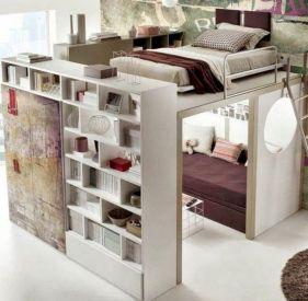 Cute diy bedroom storage design ideas for small spaces 32