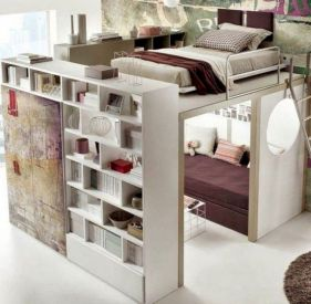 Cute diy bedroom storage design ideas for small spaces 32