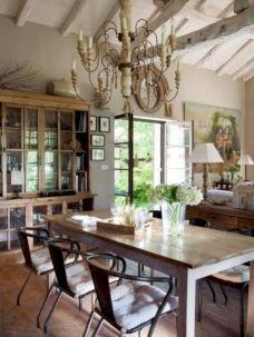 Elegant industrial metal chair designs for dining room 12