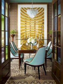 Elegant industrial metal chair designs for dining room 14