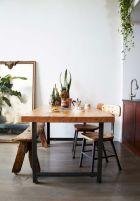 Elegant industrial metal chair designs for dining room 32