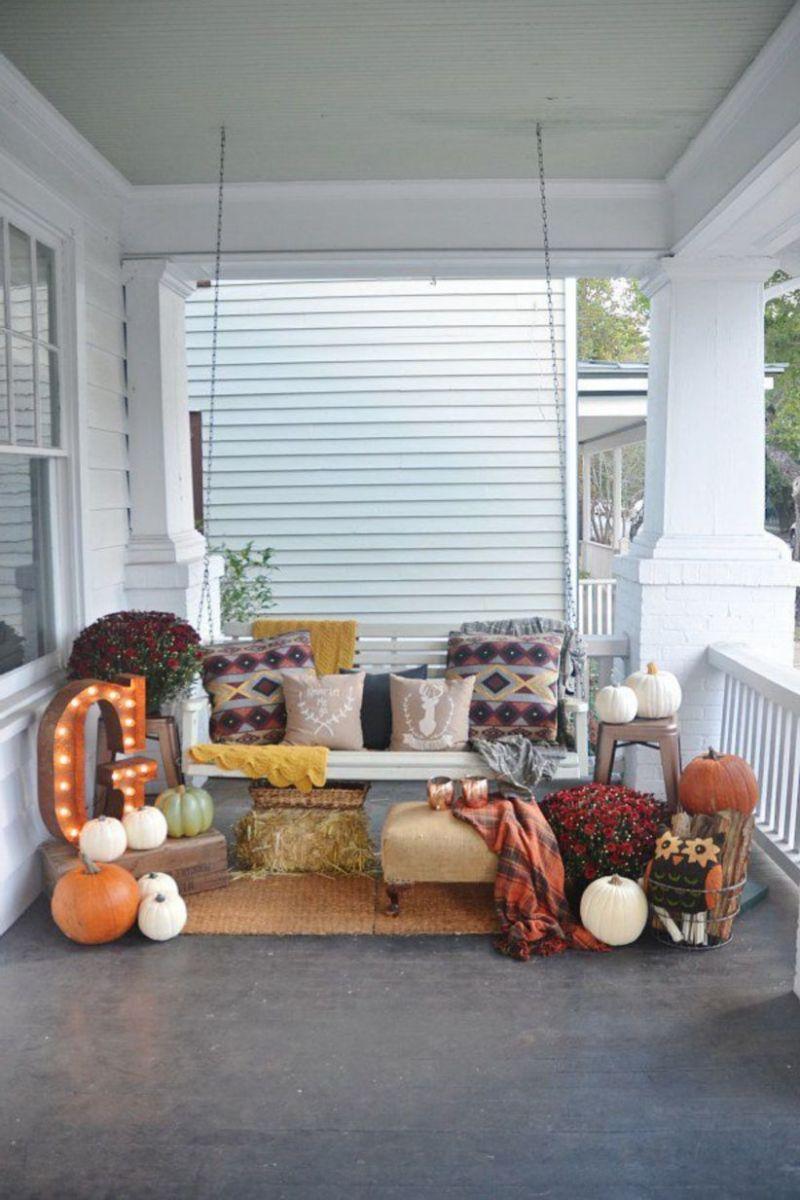 Fantastic front porch decor ideas 26