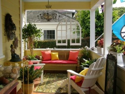 Fantastic front porch decor ideas 28