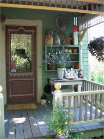 Fantastic front porch decor ideas 31