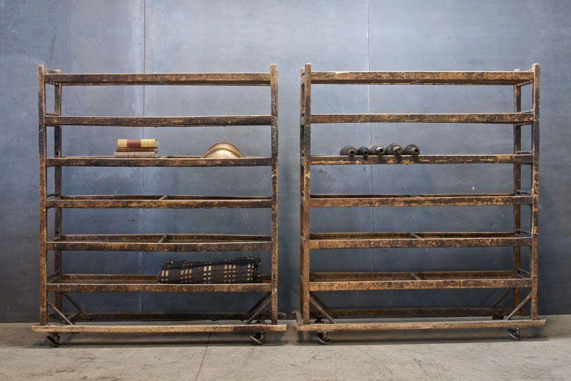Luxury antique shoes rack design ideas 08