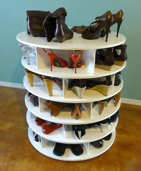 Luxury antique shoes rack design ideas 11