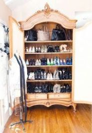 Luxury antique shoes rack design ideas 17