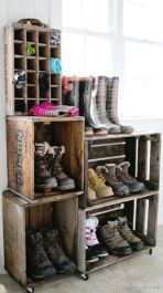 Luxury antique shoes rack design ideas 18