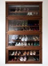 Luxury antique shoes rack design ideas 29