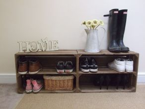 Luxury antique shoes rack design ideas 37