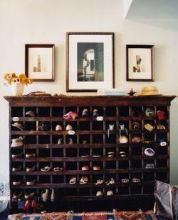 Luxury antique shoes rack design ideas 45