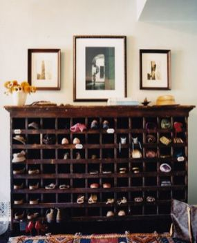 Luxury antique shoes rack design ideas 45