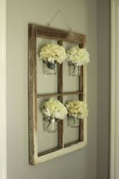 Newest diy vintage window ideas for home interior makeover 03