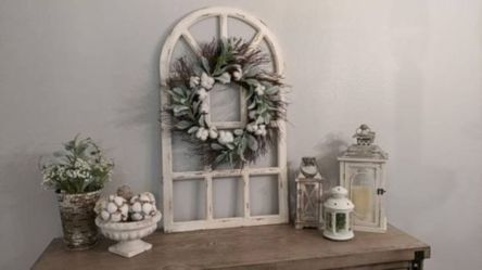 Newest diy vintage window ideas for home interior makeover 24