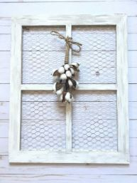 Newest diy vintage window ideas for home interior makeover 25