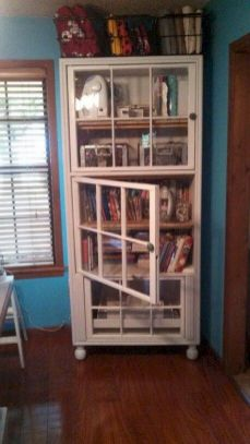 Newest diy vintage window ideas for home interior makeover 31