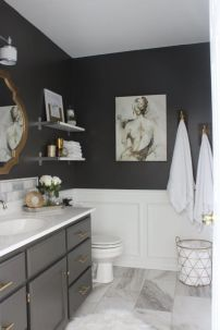 Perfect master bathroom design ideas for small spaces 07