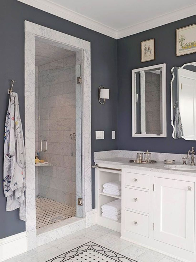Perfect master bathroom design ideas for small spaces 27