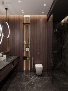 Perfect master bathroom design ideas for small spaces 31