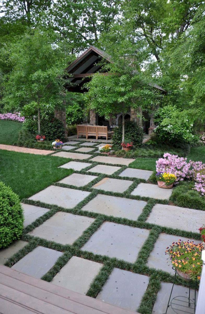Stunning landscape pathways ideas for your garden 10