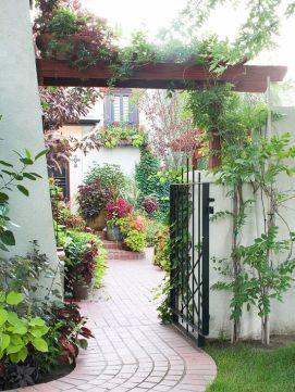 Stunning landscape pathways ideas for your garden 25