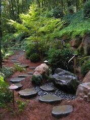 Stunning landscape pathways ideas for your garden 41