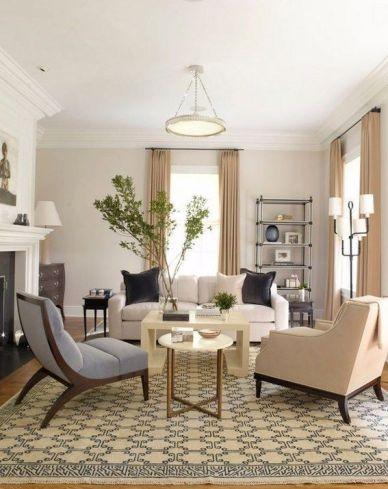 Wonderful traditional living room design ideas 23