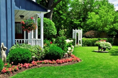 Amazing garden decor ideas 16