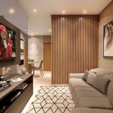 Astonishing partition design ideas for living room 01